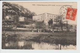 VINS - VAR - CHATEAU SEIGNEURIAL, VUE PRISE DE LA RIVIERE CARAMY - France