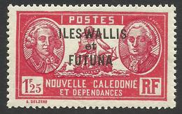 Wallis And Futuna, 1.25 F. 1939, Sc # 72, MH - Unused Stamps