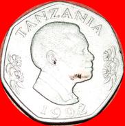 § ELEPHANT WITH CALF: TANZANIA ★ 20 SHILLINGS 1992! LOW START★ NO RESERVE! - Tanzania