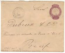 17487 Brasil Envelope Ev-46 De Bezerros P/ Recife Raro - Non Classés