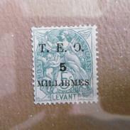 Timbre  Levant   1902   Surcharge  Timbre  Neuf  Gomme  D Origine - Levant (1885-1946)