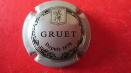 CAPSULE CHAMPAGNE GRUET. Gris Et Noir - Gruet
