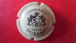 CAPSULE CHAMPAGNE VEUVE DURAND. Crème Et Noir - Durand (Veuve)