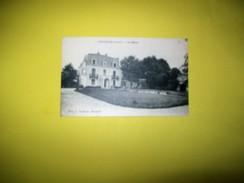 Carte Sépia De 1939    CONTINVOIR   (I.et.L.)  .Le  Manoir - Frankreich