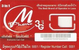 *LAOS* - Supporto GSM - Laos