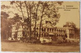 CPA 3. Saigon Palais Du Gouvernement Général Indochine 1924 - Viêt-Nam