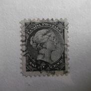 Timbre  Canada  1870.93  1/2  NOIR   VICTORIA   OBLITERE - Oblitérés