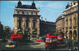 °°° 2026 - UK - LONDON - PICCADILLY CIRCUS - 1966 With Stamps °°° - Piccadilly Circus