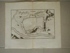 Gravure LANGRES , Par Mérian En 1650 - Technical Plans