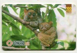 TK 8531 PHILIPPINES - PLTD Chip PH-TC-32 Monkeys