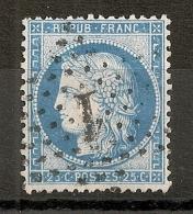 ETOILE 1 De PARIS Sur N°60 Type I. - 1871-1875 Cérès