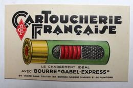 Calendrier Cartoucherie Française 1937 Munitions Chasse Mathieu Anthony - Calendriers