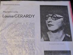 LOUISE GERARDY 1898/1976 - Environ 125 Dessins, Croquis, Impressions, Divers - Estampes & Gravures