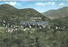 68634 ITALY CODEGLIANO AND VICONAGO VIEW GENERAL BREAK CIRCULATED TO ARGENTINA POSTAL POSTCARD - Italia