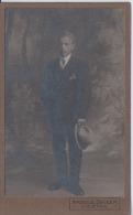 Switzerland - Liestal - CDV Photo Cca. 1880 - Arnold Seiler - 105 X 65 Mm - Liestal Coat Of Arms - Old (before 1900)