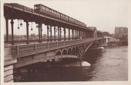 Paris 75 - Métro Viaduc De Passy - Editeur SIC - Transport Urbain En Surface