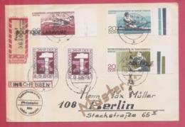 ALLEMAGNE---Enveloppe Recommandée-Pour Berlin--Affranchissement