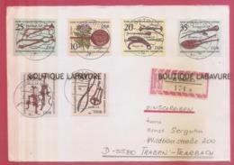 ALLEMAGNE---Enveloppe Recommandée-Pour Traben - Storia Postale