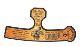 Etiquette (label) De Biere Française  ( Beer, Cerveza, Birra, Bier);Brasserie FICHER - Beer