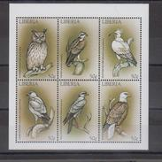 Libéria YV 1903/8 N 1999 Rapaces - Pájaros
