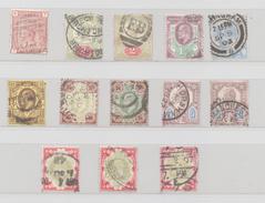 ROYAUME UNI ENTRE N° 68 ET 117 (YT) TBE VALEUR 212 EUROS VICTORIA ET EDWARD VII - Oblitérés