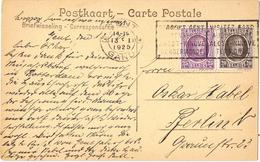 23563. Postal GENT (Belgien) 1925. Slogan Visitez Gand - Bélgica