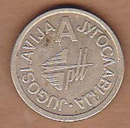 AC - YUGOSLAVIA PTT TELEPHONE A TOKEN JETON - Monetary/Of Necessity
