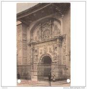 ZRGZTPA4336-LFT6538TBE.Tarjeta Postal De ZARAGOZA.ARTE.Esculturas  Y PORTADA DE LA COLEGIATA DE SANTA MARIA En CALATAYUD - Esculturas