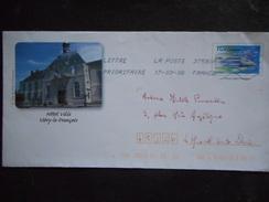 PAP -¨VITRY LE FRANCOIS Hôtel De Ville - Timbrage TGV - Postal Stamped Stationery
