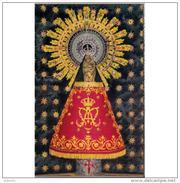 ZRGZTPA4452CPA-LFTD7140TBES.Tarjeta Postal De ZARAGOZA.ARTE.Peana Y Escultura De LA VIRGEN DE EL PILAR,patrona ZARAGOZA - Esculturas