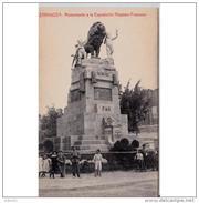 ZRGZTPA4453CPA-LFTD7149TBESTarjeta Postal De ZARAGOZA.APeana Y Escultura MONUMENTO A LA EXPOSICION HISPANO F De ZARAGOZA - Esculturas
