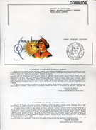 19728 Brasil, Ministery Communication Of The Issue 1973 Of Kopernikus/copernic/kopernika (no Philatelic Item) - Astronomùia