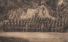 CARTE POSTALE ORIGINALE ANCIENNE : NOVICIAT DES PRETRES DU SACRE COEUR DE BRUGELETTE BELGIQUE JUBILE DE LA CONGREGATION - Brugelette