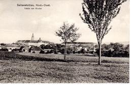 SEITENSTETTEN, Bez. Amstetten Totale Von Westen, Verlag Lehner Seitenstetten, 25.8.1918 - Amstetten