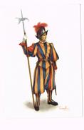 Paepstliche Schweizergàrde:Hellebandier-Cohors Pedestris Helvetiorum-Guardia Svizzera Pontificia-Pontifical Swiss Guard - Vatican