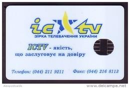 UKRAINE 1996. KIEV. ICTV. Cat.-Nr. K9-X5. 280 Units. Chip N. Glossy - Ukraine