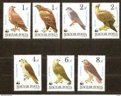 Hongarije Hongrie Ungarn 1983 Yvertn° 2864-2870 *** MNH Cote 7,50 Euro Faune Oiseaux Vogels Birds WWF - Nuevos