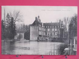 61 - Flers - Hôtel De Ville Et Château - Vue Des Etangs - 1905 - Scans Recto-verso - Flers