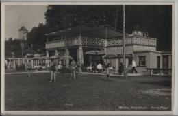 Murten, Strandbad - Morat Plage - Photo: A. Gerber - FR Fribourg