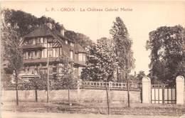 59 - NORD / Croix - Le Château Gabriel Motte - Andere Gemeenten