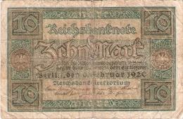 ALLEMAGNE   10 Mark   6/2/1920   P. 67a - [ 3] 1918-1933 : Weimar Republic