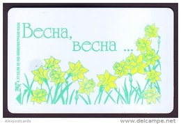 UKRAINE 1998. KIEV. SPRING FLOWERS. Cat.-Nr. K133. 1680 Units. Chip Thomson - Oekraïne