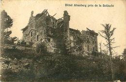 Cpa Col De La Schlucht 68 Hôtel Altenberg ( Ruines ) - Frankrijk