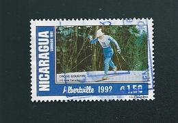 "N°  Alberville 1992 "" Cross Country"" Nicaragua 1991 1.50 - Nicaragua"