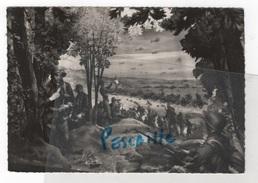61 ORNE - MILITARIA - CP JUIN 44 BATAILLE DE NORMANDIE - MUSEE DE CIRES PARLANT - L'AIGLE - 5e SCENE VUE DU DEBARQUEMENT - L'Aigle