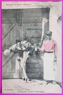 Cpa Dakar Sénégalais Eleveur D' Autruche Carte Postale Sénégal Afrique Breeder Of Ostriches Africa - Senegal
