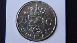 Netherlands - 1962 - 2 1/2 Gulden - Silver720 - KM 185 - XF - Look Scans - [ 3] 1815-…: Königreich Der Niederlande