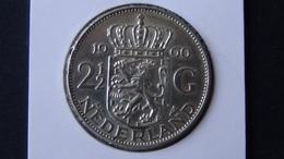 Netherlands - 1960 - 2 1/2 Gulden - Silver720 - KM 185 - XF - Look Scans - [ 3] 1815-…: Königreich Der Niederlande