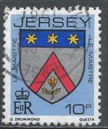 Jersey 1981. Scott #256 (U) Le Maistre Family Arms * - Jersey