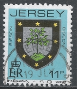 Jersey 1981, Scott #257 (U) Bisson Family Arms * - Jersey